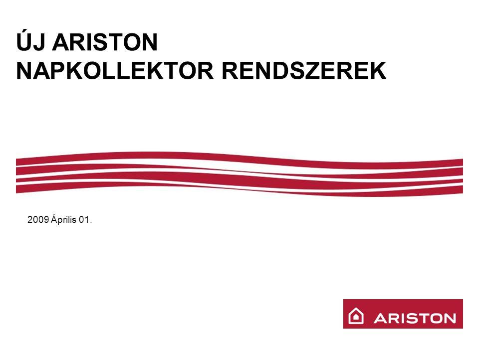 ÚJ ARISTON NAPKOLLEKTOR RENDSZEREK 2009 Április 01.