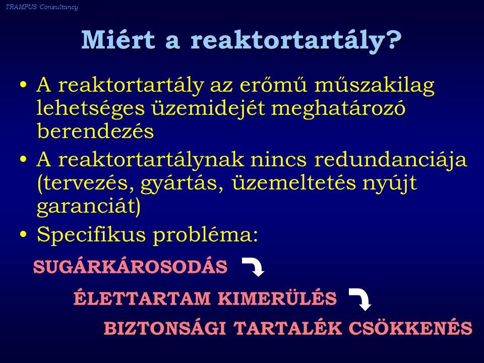 TRAMPUS Consultancy Miért a reaktortartály.