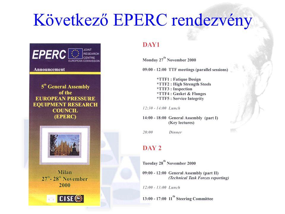 Következő EPERC rendezvény
