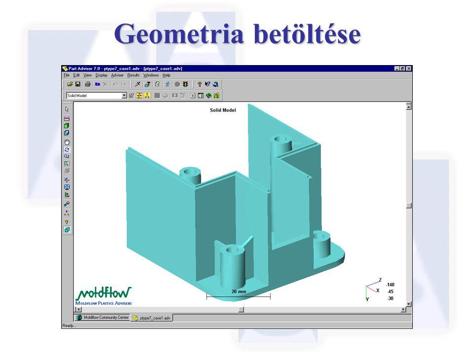 Geometria betöltése