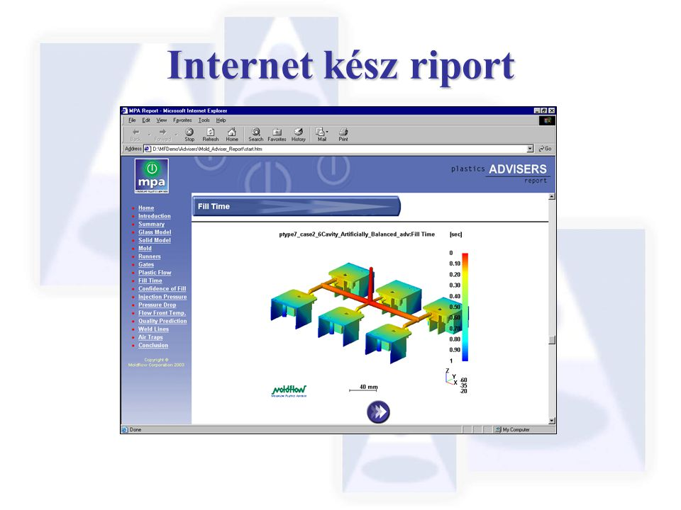 Internet kész riport