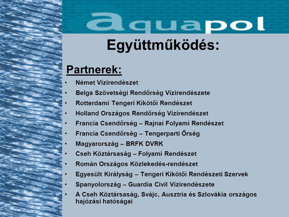 Az AQUAPOL gyorsan fejlődik Új partnerországok csatlakozása várható: Portugália, Horvátország...