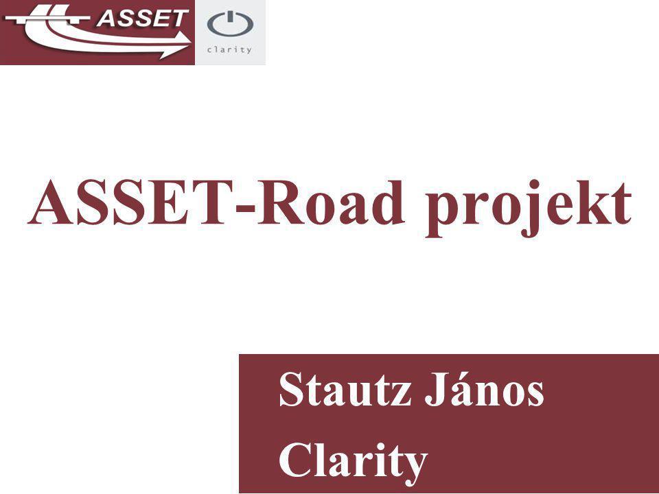 ASSET-Road projekt Stautz János Clarity Consulting