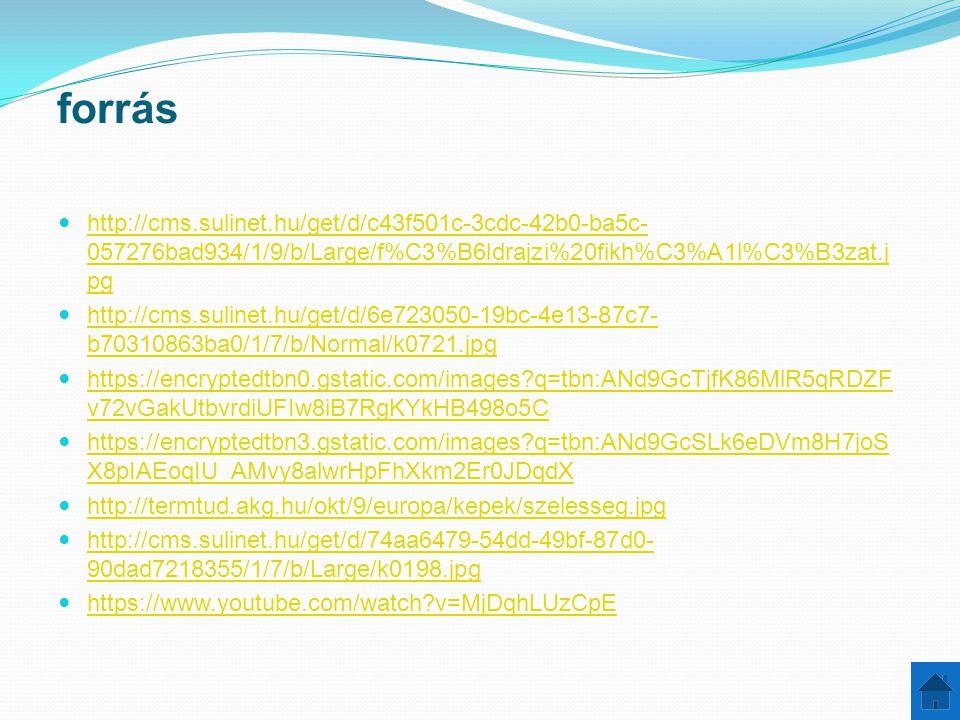 forrás http://cms.sulinet.hu/get/d/c43f501c-3cdc-42b0-ba5c- 057276bad934/1/9/b/Large/f%C3%B6ldrajzi%20fikh%C3%A1l%C3%B3zat.j pg http://cms.sulinet.hu/