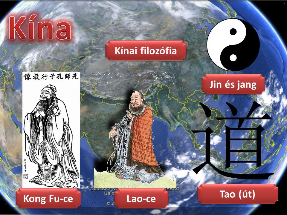 Jin és jang Tao (út) Kong Fu-ce Lao-ce Kínai filozófia