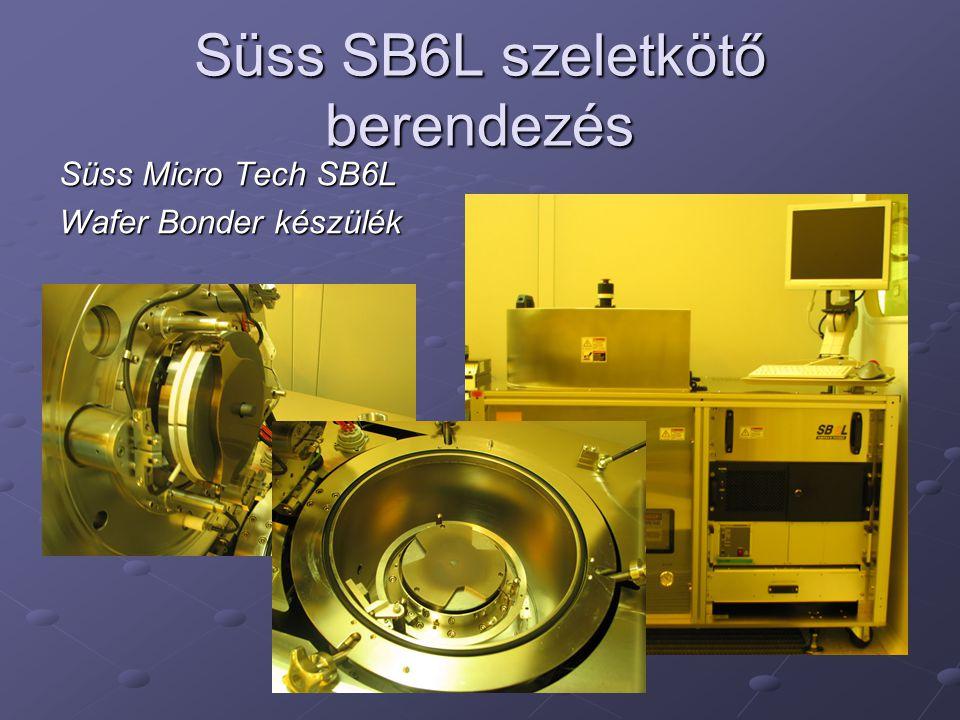 Süss SB6L szeletkötő berendezés Süss Micro Tech SB6L Wafer Bonder készülék