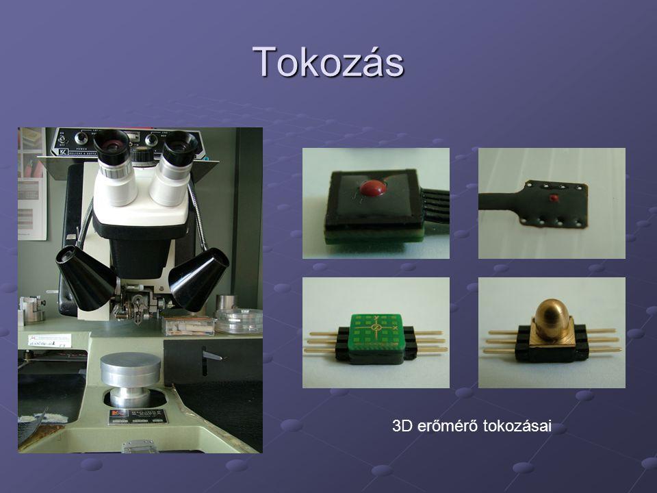 Tokozás 3D erőmérő tokozásai