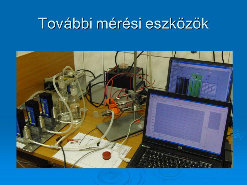 További mérési eszközök