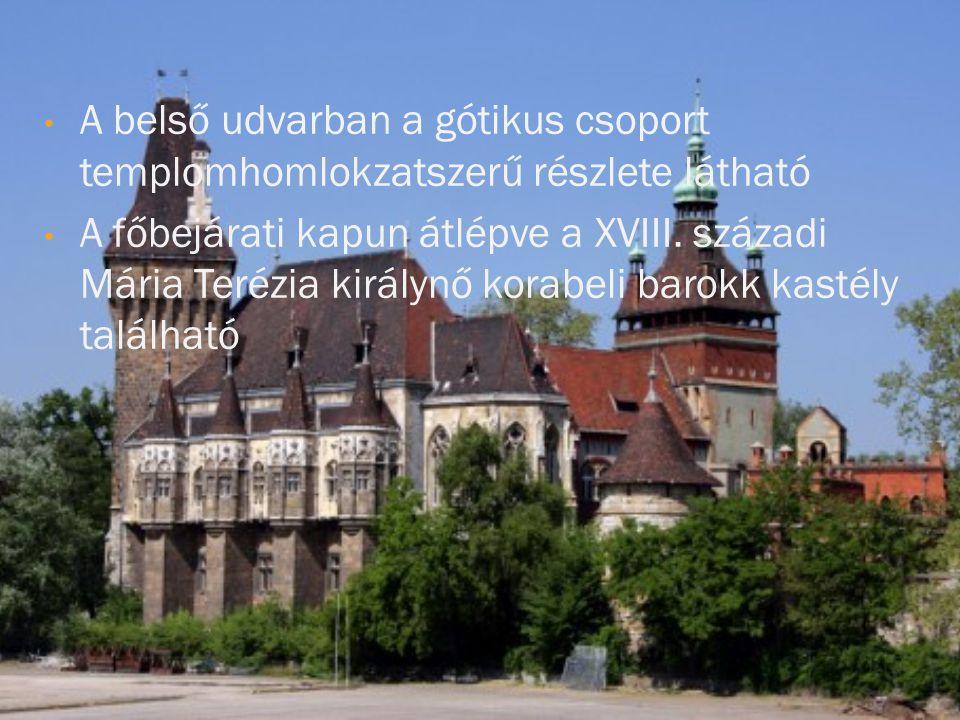 Az eredeti vár Erdélyben található, a budapesti ennek másolata.