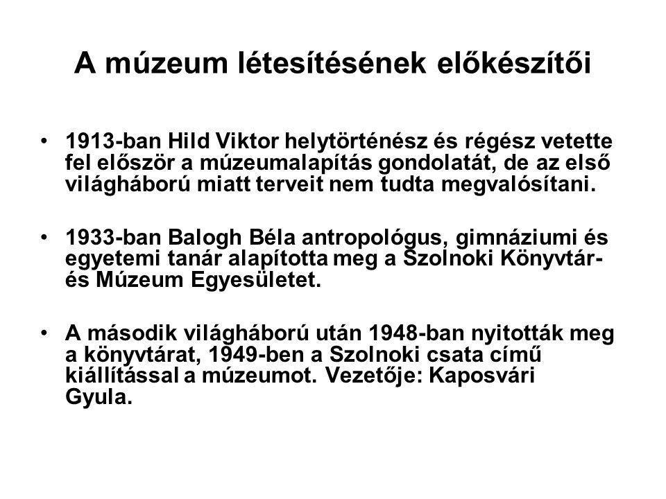 Megoldások 1.Hild Viktor 2. 1913-ban 3. 1914-ben kitört az I.