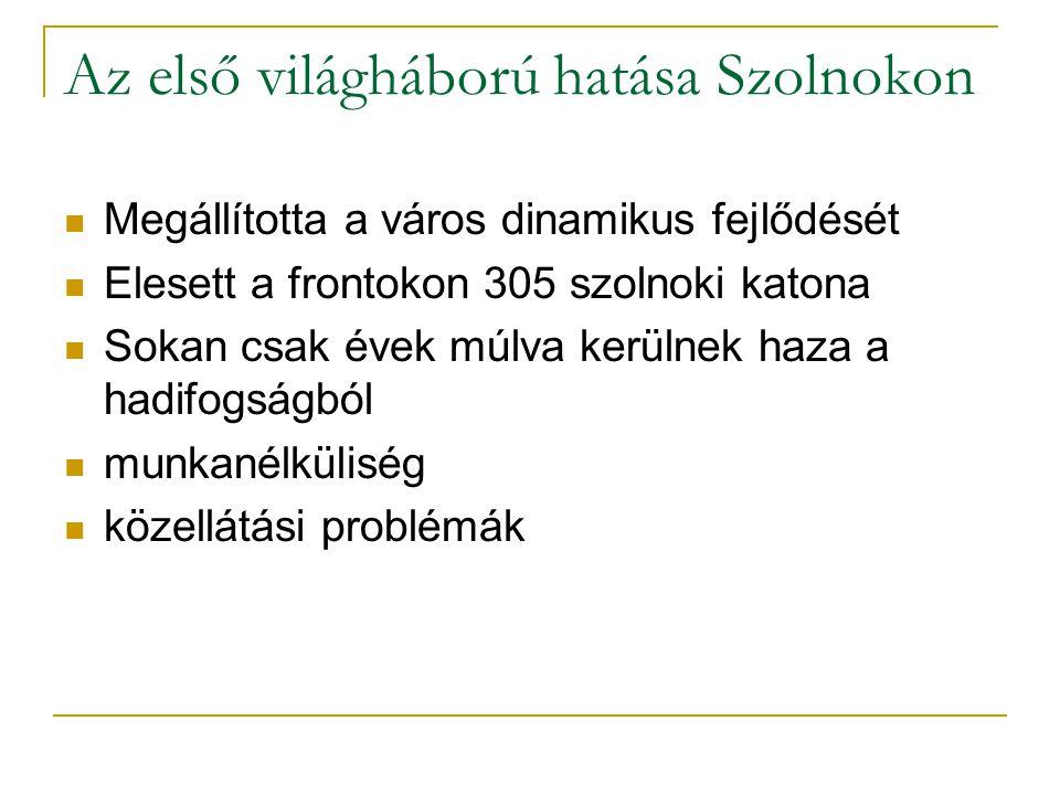 Vörösterror Szolnokon Május 3-án délután robogott be Szamuely Tibor páncélvonata.