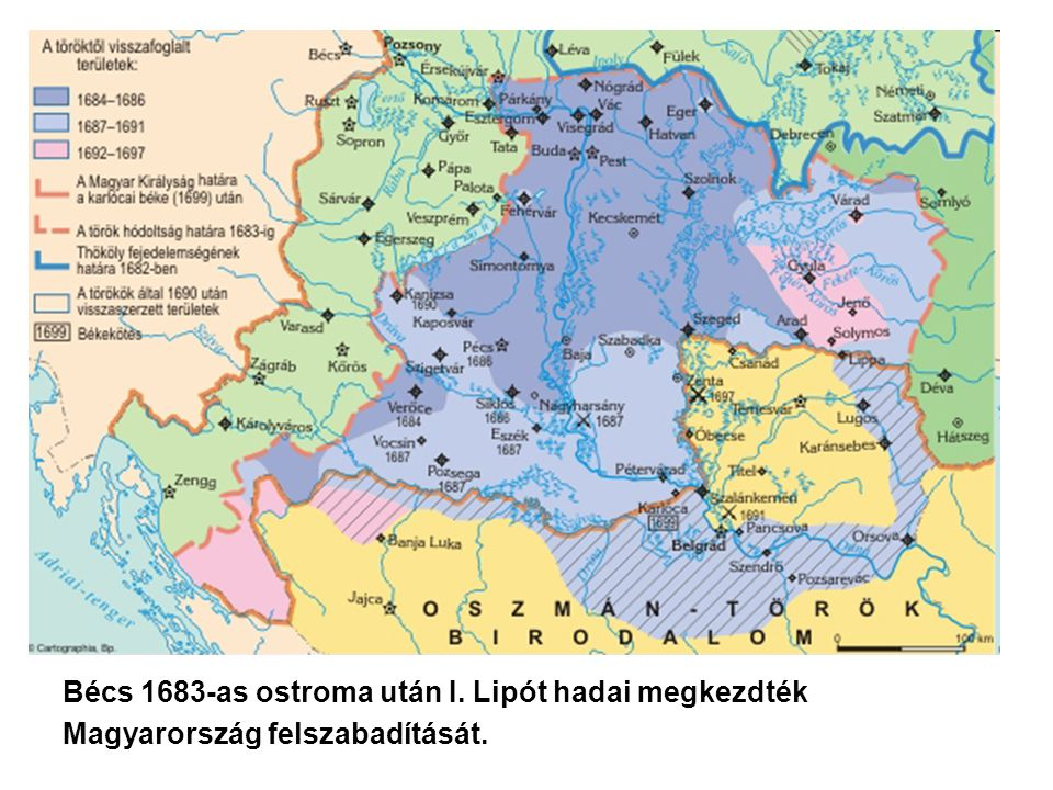 Bécs 1683-as ostroma után I. Lipót hadai megkezdték Magyarország felszabadítását.