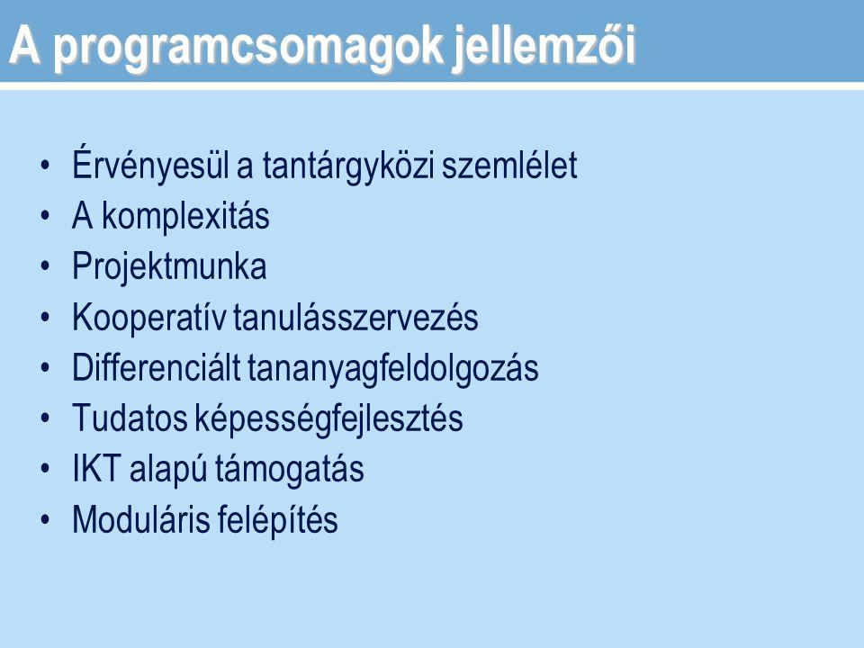 Öt tanórára kínál egy adott témában fejlesztési feladatot A nyelvtanár választja ki az adott nyelvi csoporthoz, szükségleteihez igazítva Alkalmas egy adott nyelvkönyv kiegészítésére Egy-egy fejezet kiválasztására Egy téma bővítésére, bevezetésére Egy-egy nyelvi készség kiemelt fejlesztésére