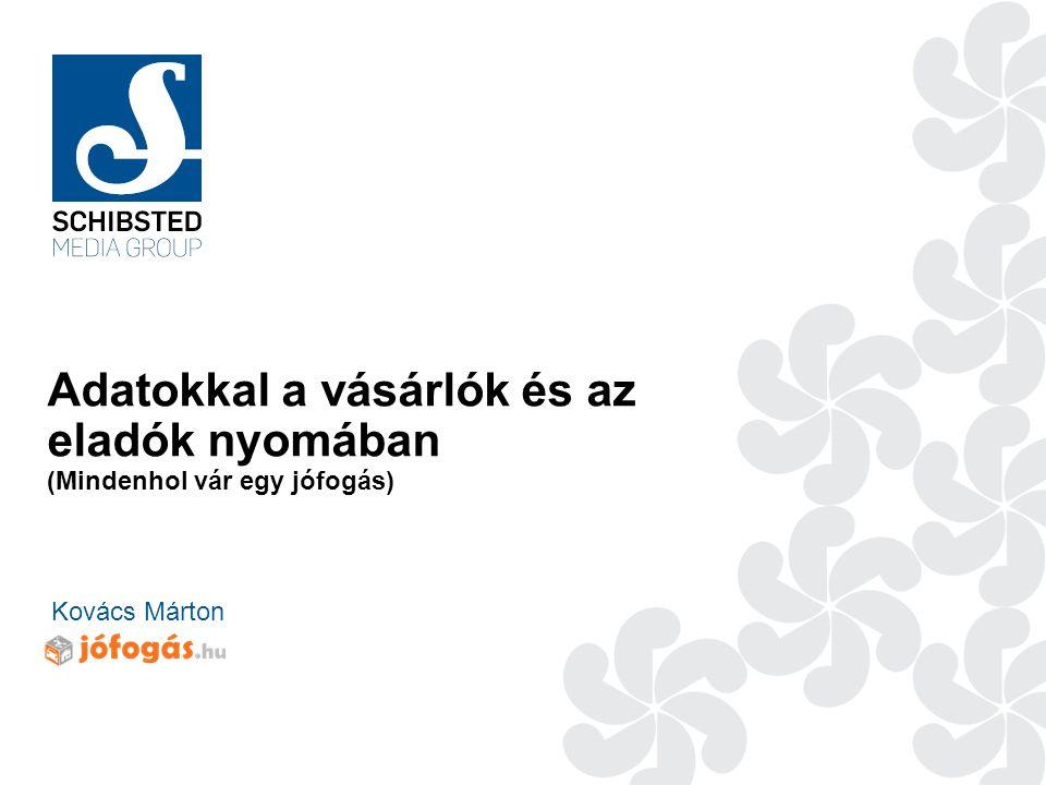 Adatokkal a vásárlók és az eladók nyomában (Mindenhol vár egy jófogás) Kovács Márton