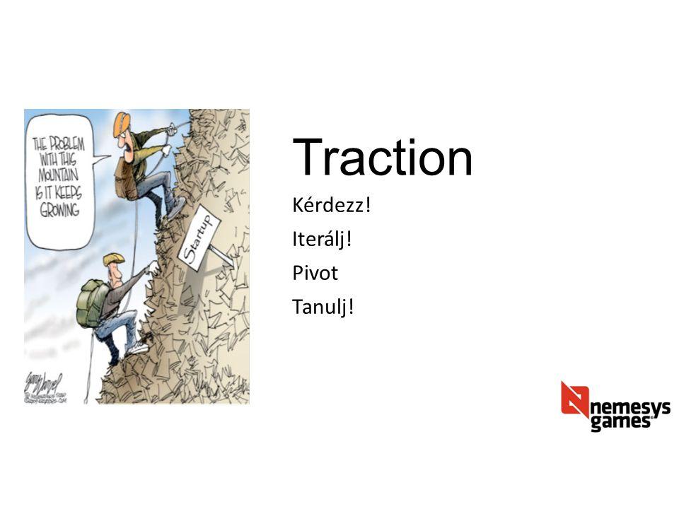 Traction Kérdezz! Iterálj! Pivot Tanulj!