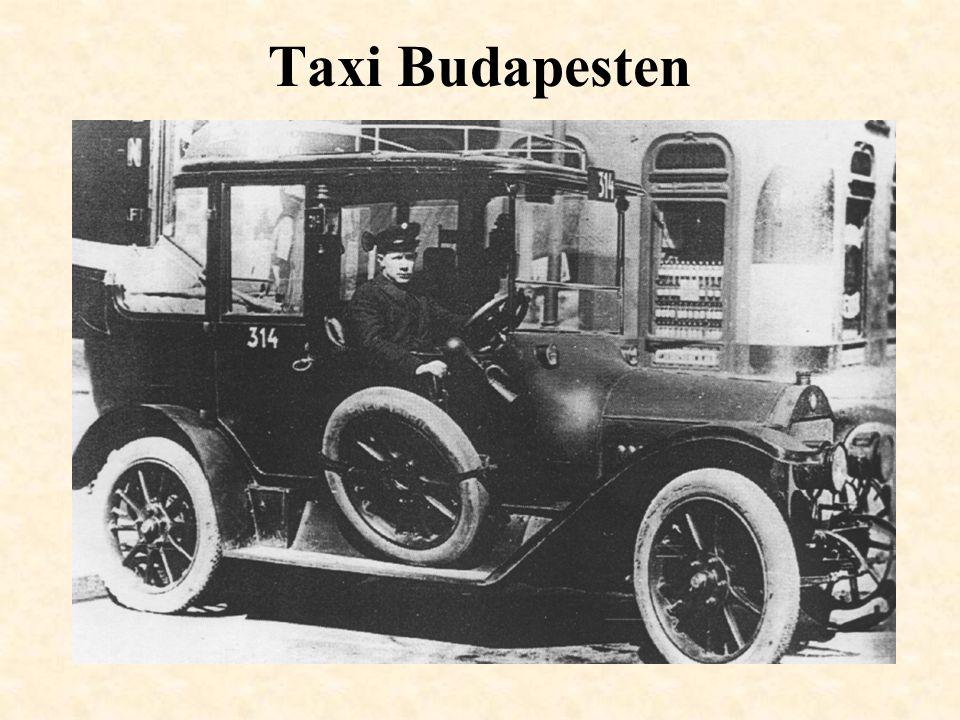 Taxi Budapesten