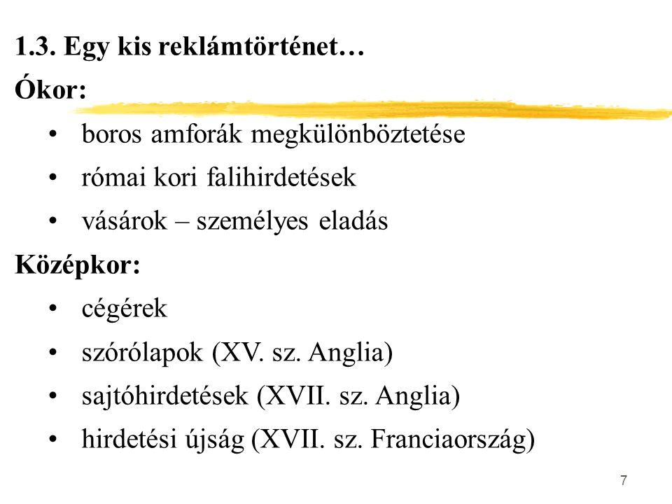 48 A sajtótermékek csoportosítása Megjelenés gyakorisága szerint: znapilapok (min.