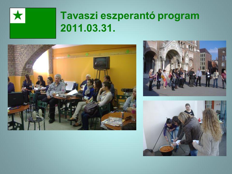 II.Eszperantó délután a Somogyi Könyvtárban, 2011. 10.21.