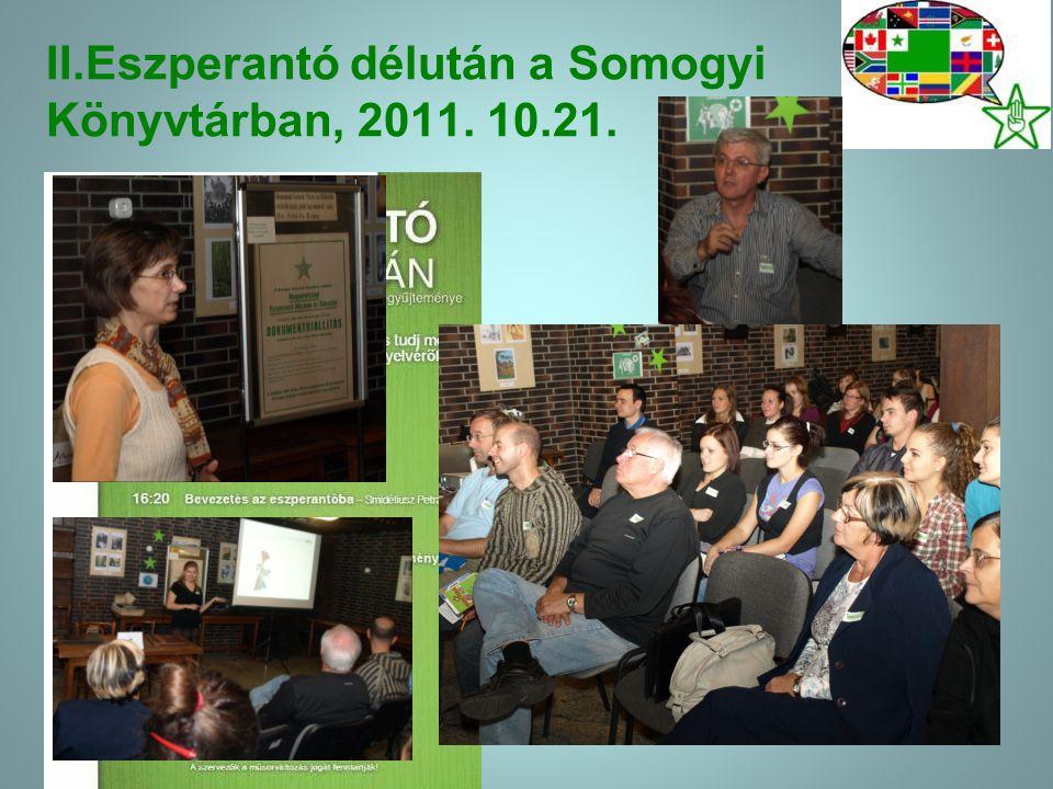 2012.évi tavaszi programjaink: 03.27.