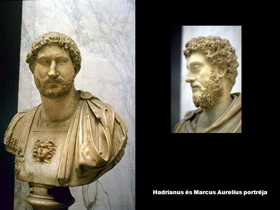Hadrianus és Marcus Aurelius portréja