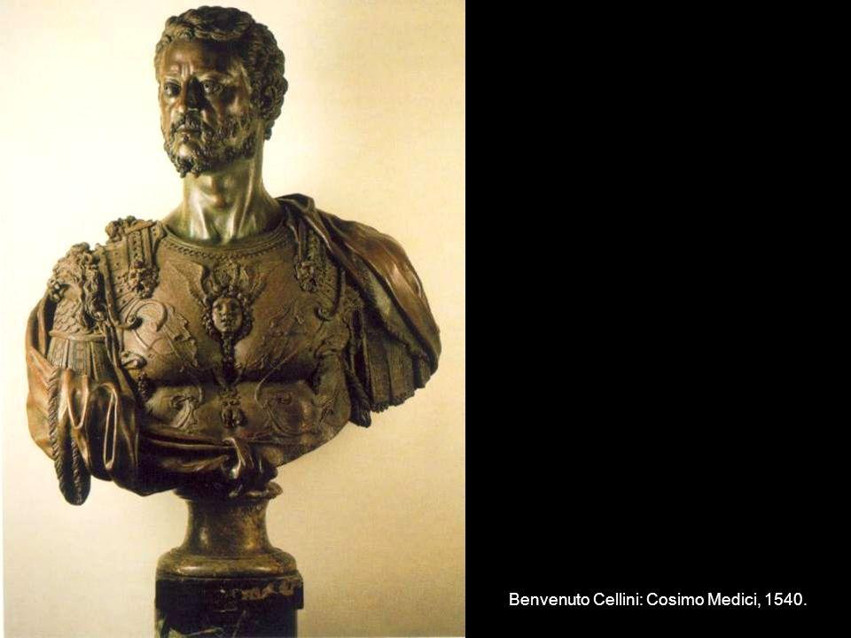 Benvenuto Cellini: Cosimo Medici, 1540.
