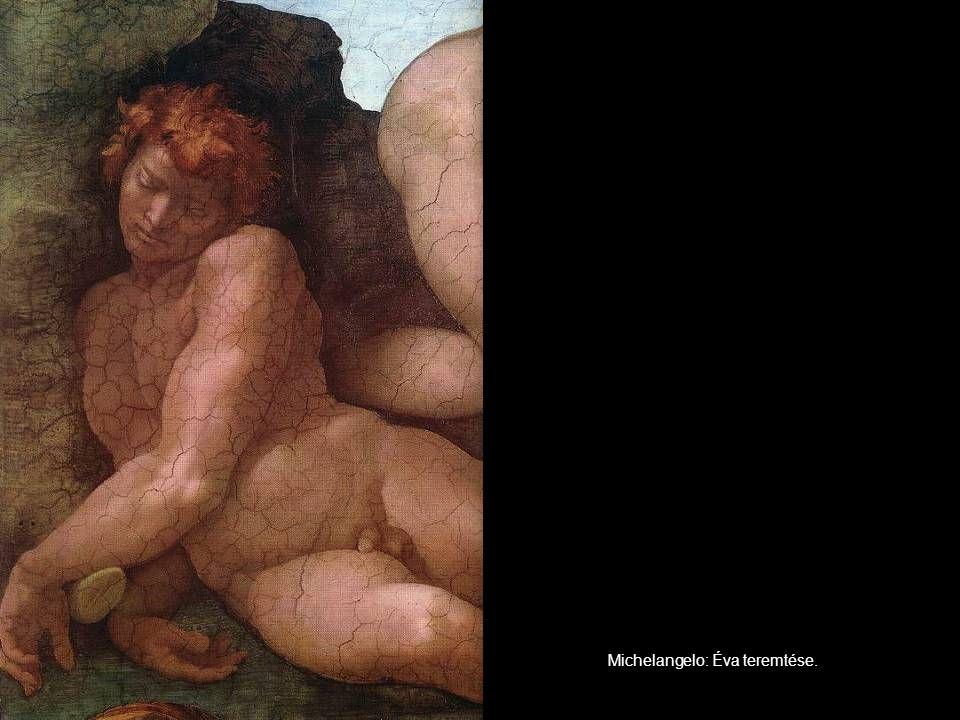 Michelangelo: Éva teremtése.