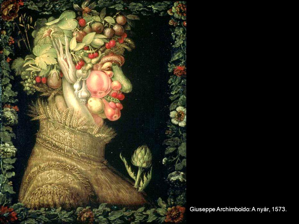 Giuseppe Archimboldo: A nyár, 1573.