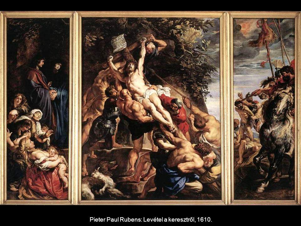 Pieter Paul Rubens: Levétel a keresztről, 1610.