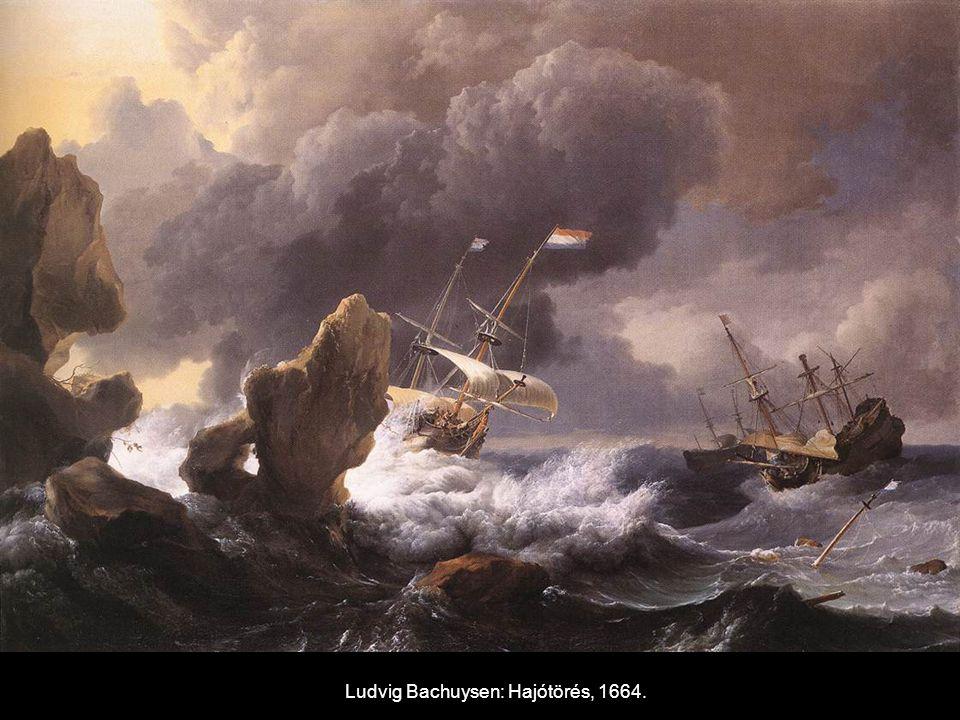Ludvig Bachuysen: Hajótörés, 1664.