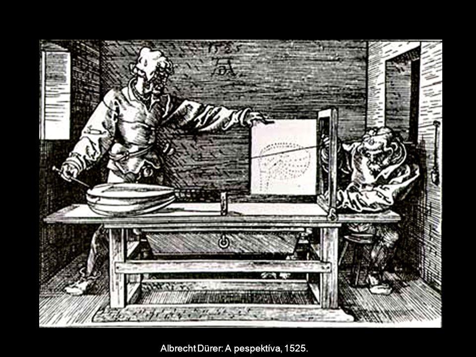 Albrecht Dürer: A pespektíva, 1525.