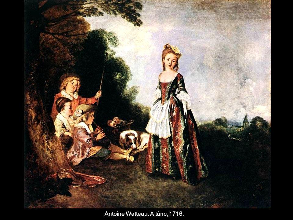 Antoine Watteau: A tánc, 1716.