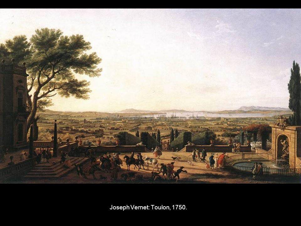 Joseph Vernet: Toulon, 1750.