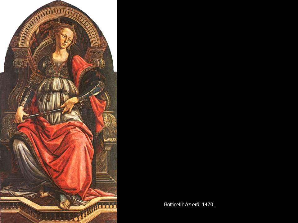Botticelli: Az erő. 1470.