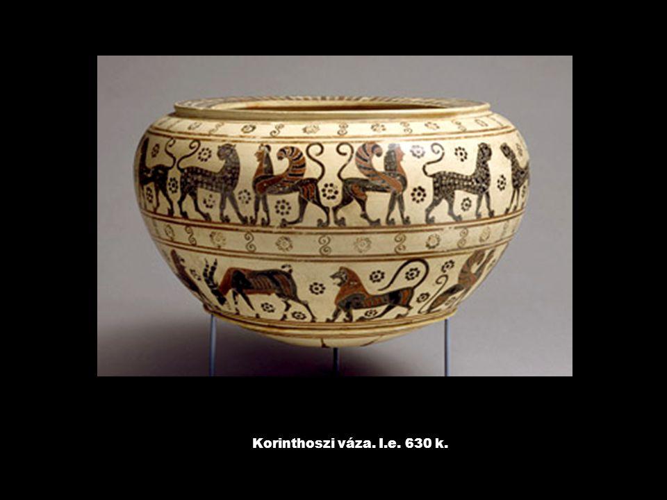 Korinthoszi váza. I.e. 630 k.
