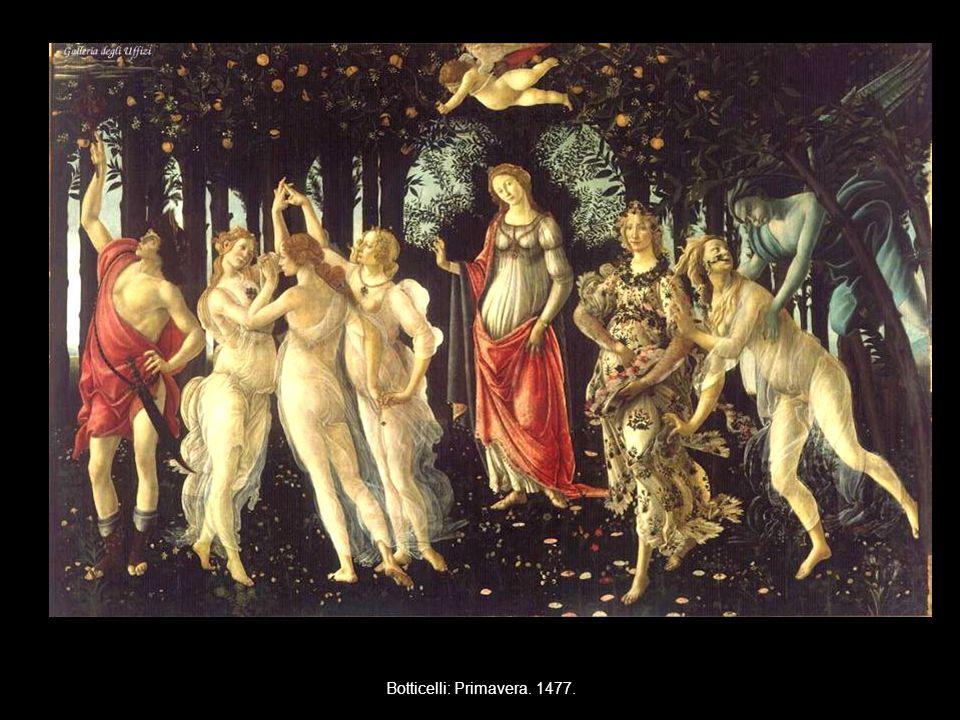 Botticelli: Primavera. 1477.