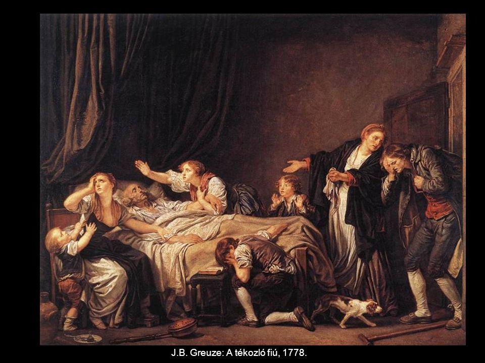 J.B. Greuze: A tékozló fiú, 1778.
