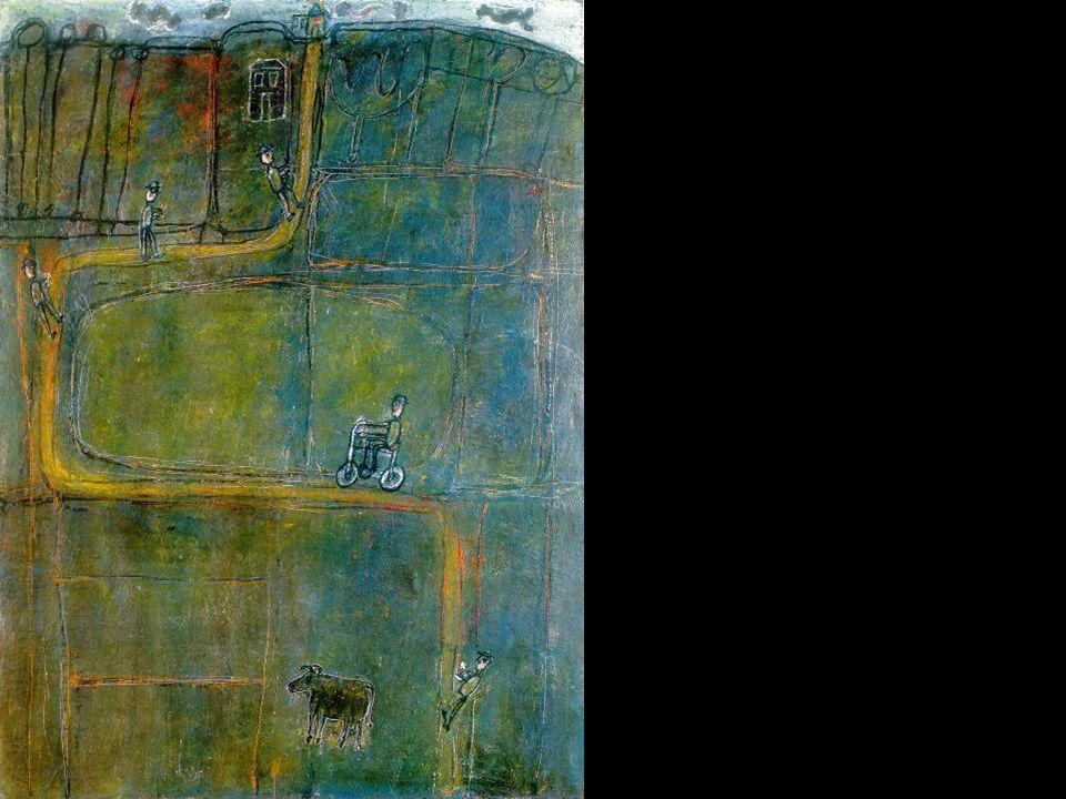 Dubuffet, Jean: Az út emberrel, 1944.