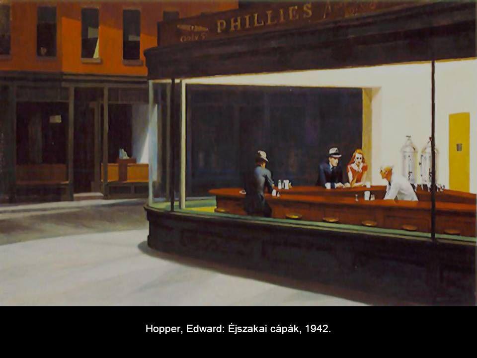 Hopper, Edward: Éjszakai cápák, 1942.