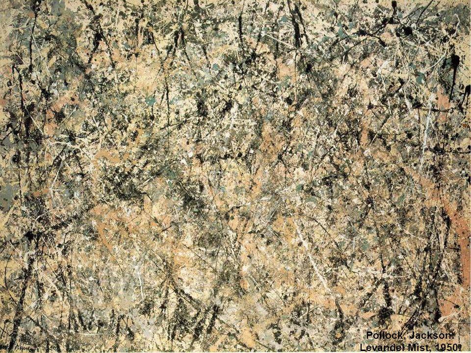 Pollock, Jackson: Levandel Mist, 1950.