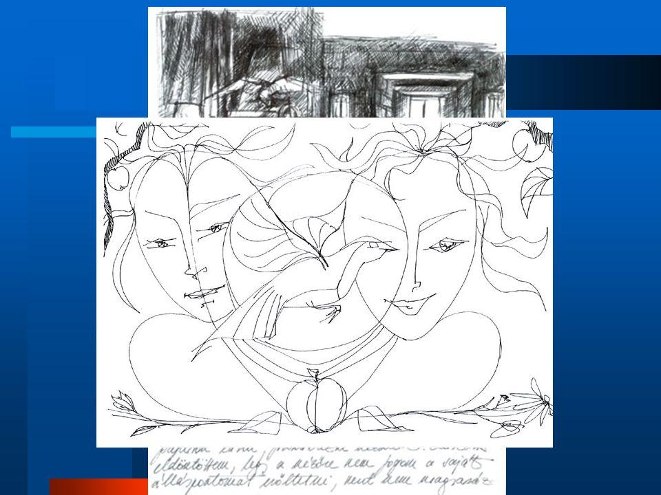 12-14 évesek rajzainak jellemzői Már csak akkor rajzol ha kérik rá.