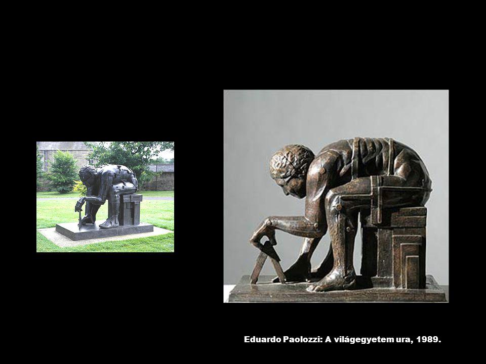 Eduardo Paolozzi: A világegyetem ura, 1989.
