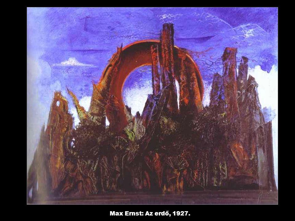 Max Ernst: Az erdő, 1927.