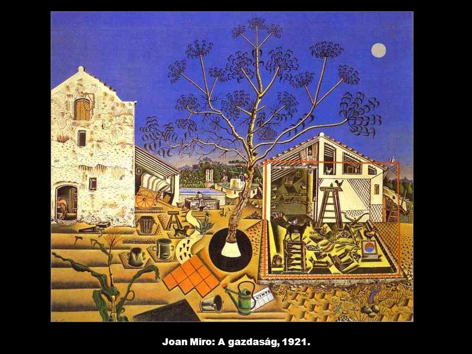 Joan Miro: A gazdaság, 1921.