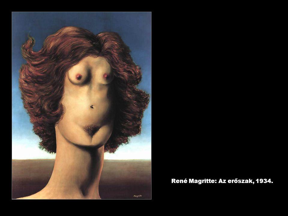 René Magritte: Az erőszak, 1934.