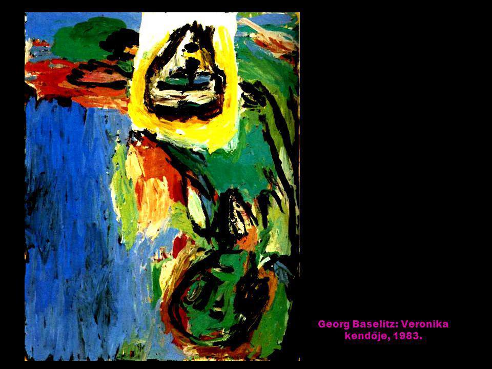 Howard Hodgkin: A nápolyi öbölben, 1982.