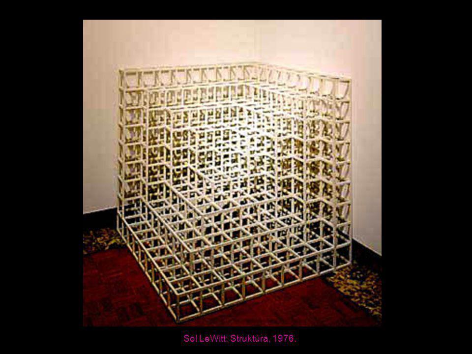 Sol LeWitt: Struktúra, 1976.