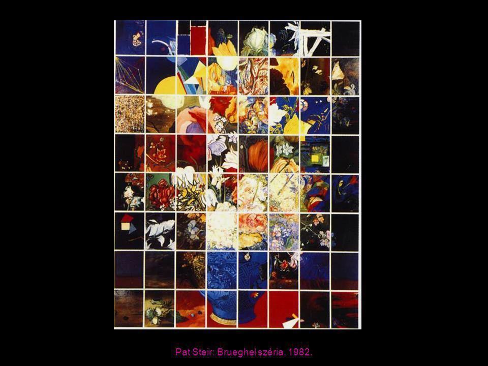 Pat Steir: Brueghel széria, 1982.