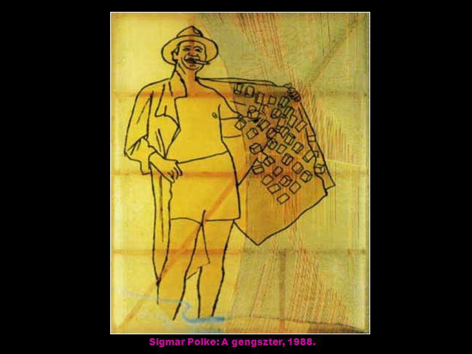 Joyce Kozloff: Struktúra, 1983.