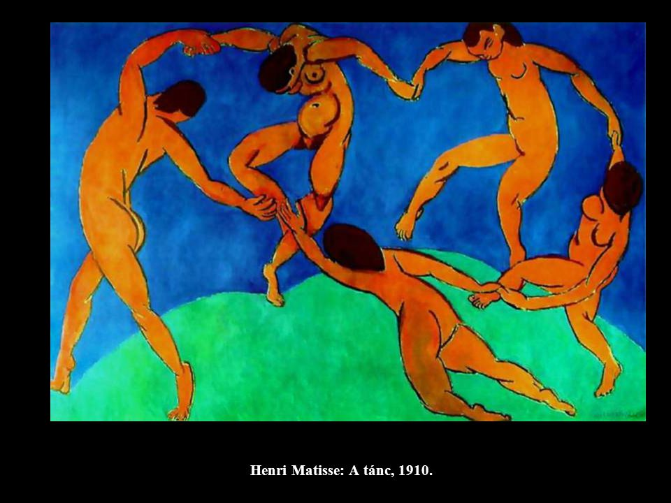 Henri Matisse: A zene, 1910.