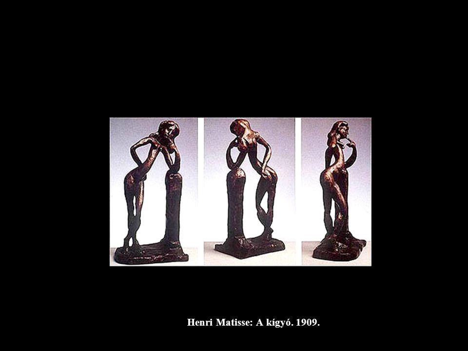 E. L. Kirchner: Bodo a műteremben, 1910.